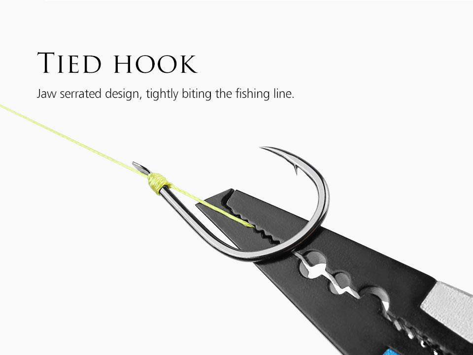 Лучшие рыболовные плоскогубцы linnhue из алюминиевого сплава