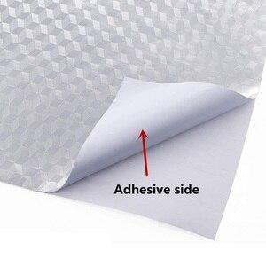 Image 2 - 0.4*10เมตรBack Splashสติกเกอร์กาวอลูมิเนียมฟอยล์กันน้ำลิ้นชักด้านล่างตู้อ่างล้างจานเคาน์เตอร์