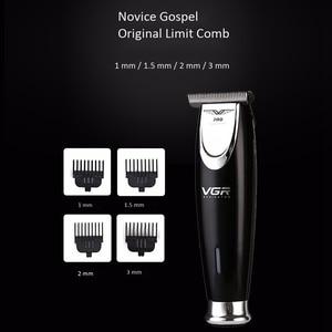 Image 2 - Vgr V 006 Electric Clipper Electric Hair Trimmer Beard Car Hair Clipper for Men Trimer Hair Cutting Machine Haircut Head Trim Fa