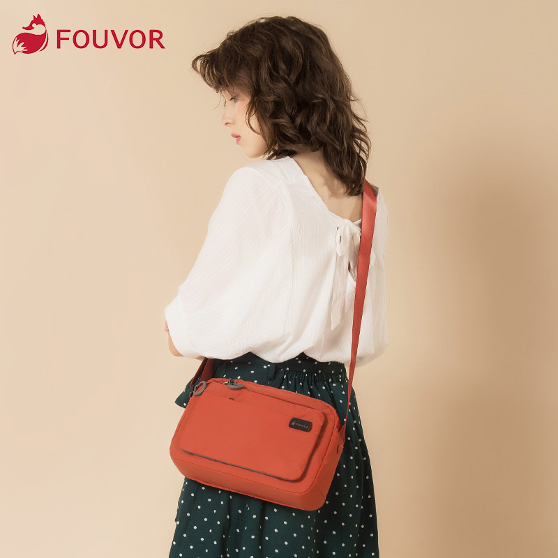 Fouvor 2019 Summer Female New Fashin Outdoor Travel Messenger Bag Oxford Zipper Shoulder Canvas Bags 2802-12