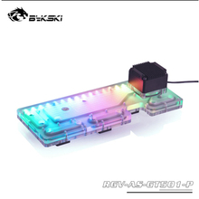Computer-Case Ddc-Pump BYKSKI Asus Tuf Support Water-Channel-Kit Cpu/Gpu-Block for GAMING