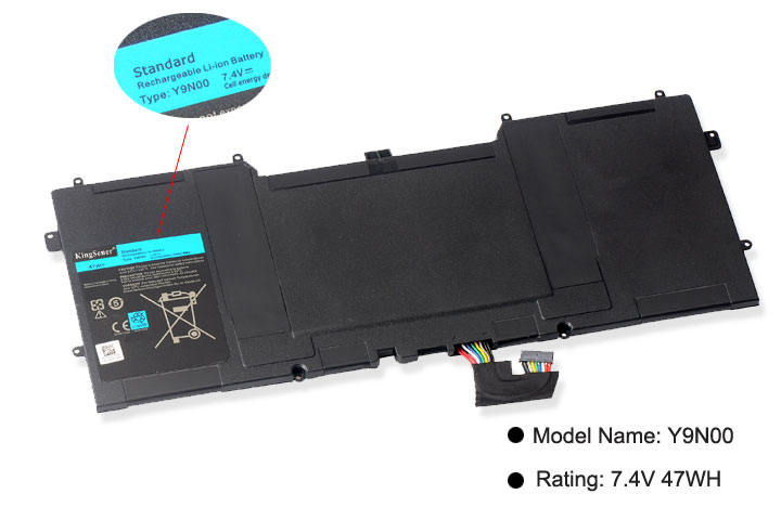 Image 2 - Kingsener Y9N00 C4K9V New Laptop Battery for DELL XPS 12 XPS13  L321X XPS13 L322X L321X C4K9V 3H76R Y9N00 489XN 7.4V 47WH-in Laptop Batteries from Computer & Office