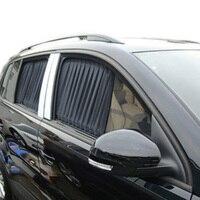 2x Car UV Protection Sun Shade Curtains Side Window Visor Mesh Cover Shield 50cm Car Curtain