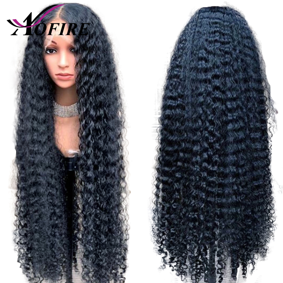 Fake Scalp Wig 13x6 Lace Front Invisible Knot Wig Deep Wave Wigs Pre Plucked Deep Part Indian Remy Hair With Baby Hair Aofire