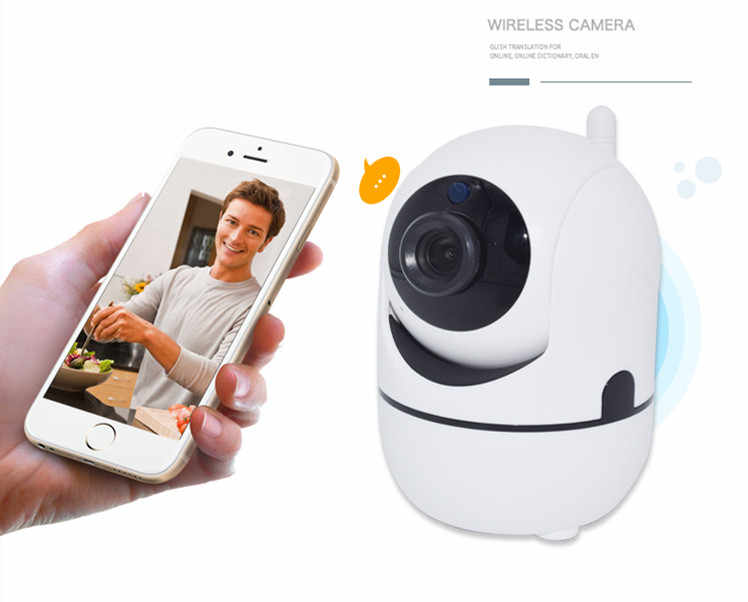 NEW  Baby Monitor WiFi Baby  Mobile Phone Remote Control Two Way Audio Baby Crying Alarm Security Camera