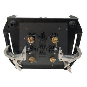 Image 5 - 10 unidades/lote de luces de escenario de aluminio, gancho de carga de 120Kg, tubo de Truss 5R 7R, foco con cabezal móvil, abrazadera de pliegue Omega con tornillos de fijación
