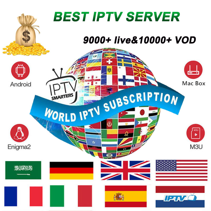 European iptv subscription full HD subscription for Italy France Poland <font><b>Belgium</b></font> Turkey Canada Portugal UK iptv code stable iptv image