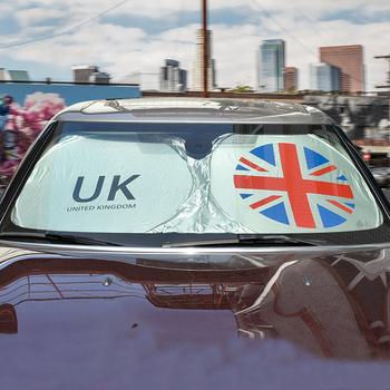 Przednia szyba samochodu osłona przeciwsłoneczna Protector parasolka dla Mini Cooper jeden S JCW R52 R53 R55 R56 R60 R61 F54 F55 F60 Countryman akcesoria tanie i dobre opinie 70 cm Sunshade 0 1kg