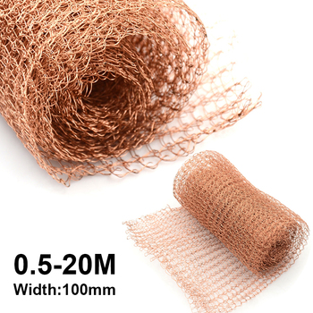 0.5-20 Meter Copper Mesh for distillation 100mm Width Corrugated Mesh For Distillation Reflux Moonshine Brewing Pest Control цена 2017