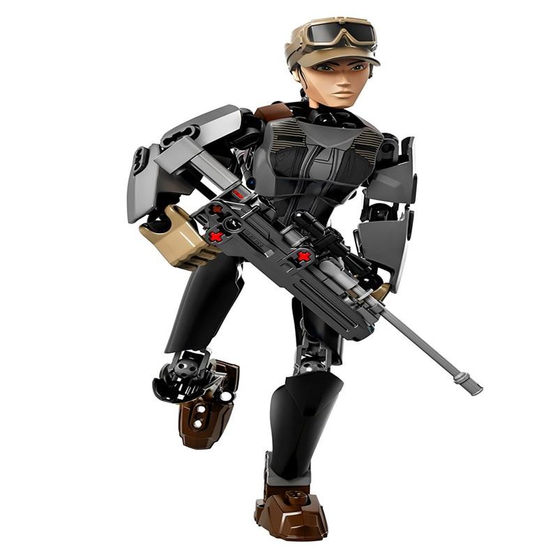 Star Wars Boba Fett Darth Maul Kylo Stormtrooper Phasma Ren Rey Vader Model Assemble Figure Construction Toys For Children 24