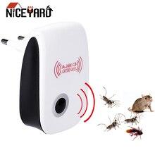 NICEYARD ЕС/США вилка электронный отпугиватель комаров таракан средство от насекомых от комаров ультразвуковой отпугиватель вредителей