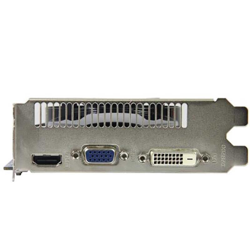 ياقوت HD6570 1GB ل AMD بطاقة الفيديو وحدة معالجة الرسومات راديون HD 6570 GDDR5 128bit بطاقات الرسومات جهاز كمبيوتر شخصي لعبة ل بطاقات الفيديو HDMI المستخدمة