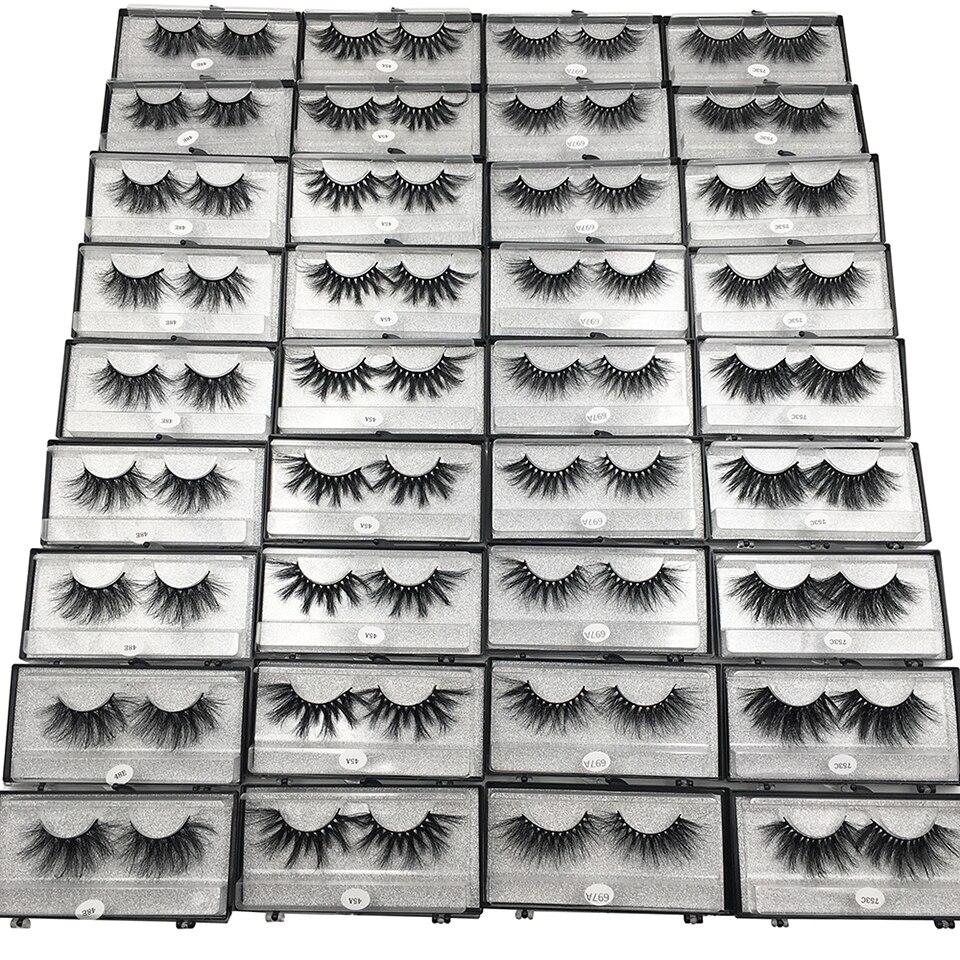 vison cílios 29 estilos longo macio dramático