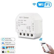 Tuya Smart Breaker Automation WiFi Switch Interruptor Module
