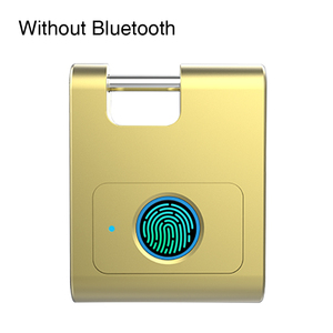 Image 5 - Casa Bluetooth In Lega di Zinco Porta di Sicurezza Gabinetto di Blocco Delle Impronte Digitali Keyless Intelligente 360 Gradi Dormitorio USB Ricaricabile Lucchetto