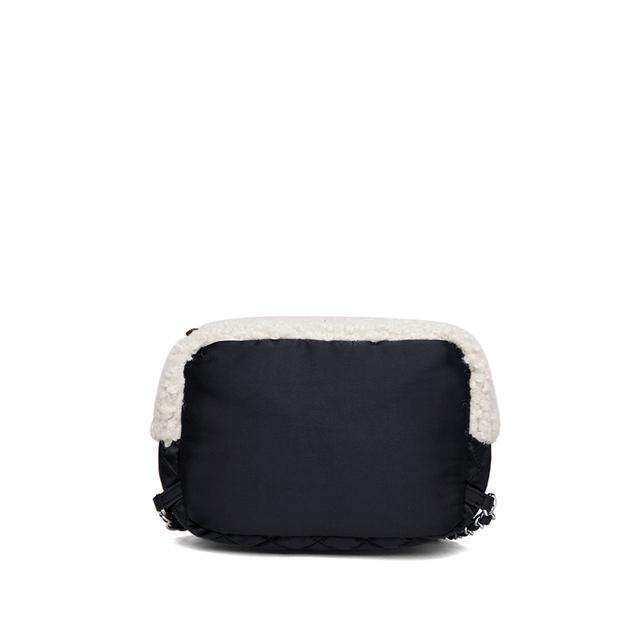 2020 new Genuine Leather bag women Lamp wool backpacks elegant soft school bag  white travel tote bags high quality Backpack New
