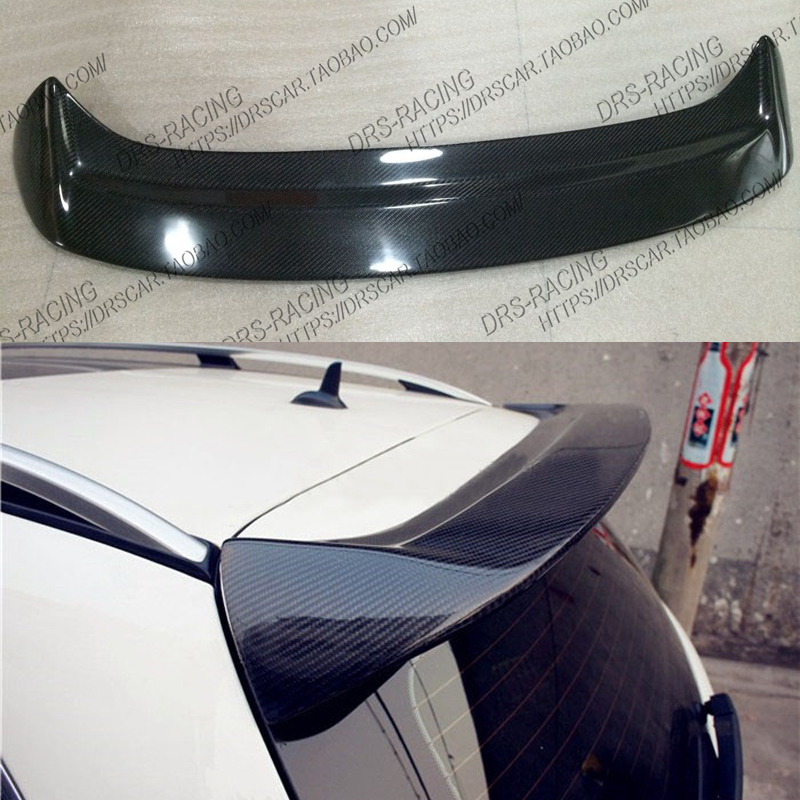 Car Accessories Fit For <font><b>Mercedes</b></font> Benz W204 C200 <font><b>C300</b></font> C63 Estate / Wagon High Quality Carbon Fiber Roof spoiler image