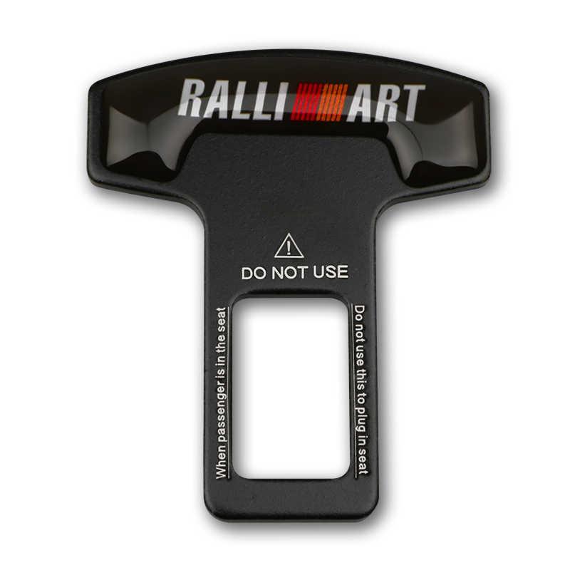Пряжка для безопасности автомобиля, вставная вилка, зажим для ремня безопасности автомобиля, Пряжка для карты для Mitsubishi RAIIL ART Lancer Asx Outlander Pajero l200
