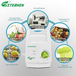 Sterhen Generator ozonu sterylizator warzywny ozon dezynfektor oczyszczacz powietrza ozon wyjście 400 mg/h w Oczyszczacze powietrza od AGD na