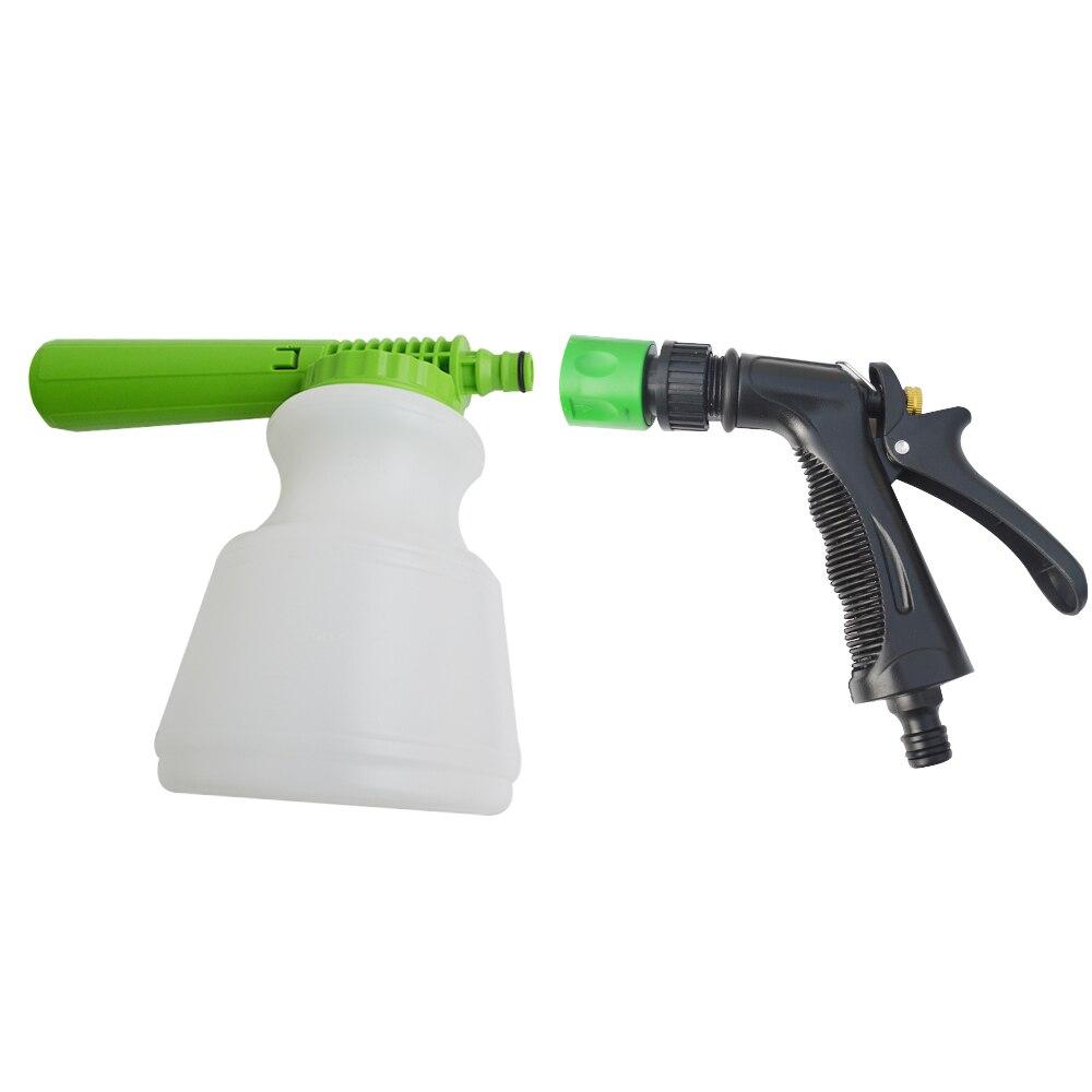 Pistola de água e lança-espuma de neve