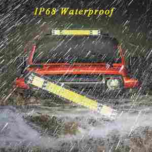 Image 5 - VISORAK 9 21 23 27 Inch Triple Row Combo Offroad LED Work Light Bar 4x4 4WD SUV ATV LED Bar For Truck SUV ATV Off road Tractor
