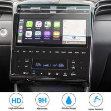 Защитная пленка для экрана ПЭТ для Hyundai Tucson NX4 2021, автомобильное радио, навигация, интерьер автомобиля, GPS-навигация