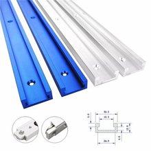 Tipo-30 carpintaria t-entalhe faixa de esquadria 300-600mm rampa trilho de guia de liga de alumínio para serra de mesa carpintaria ferramentas diy