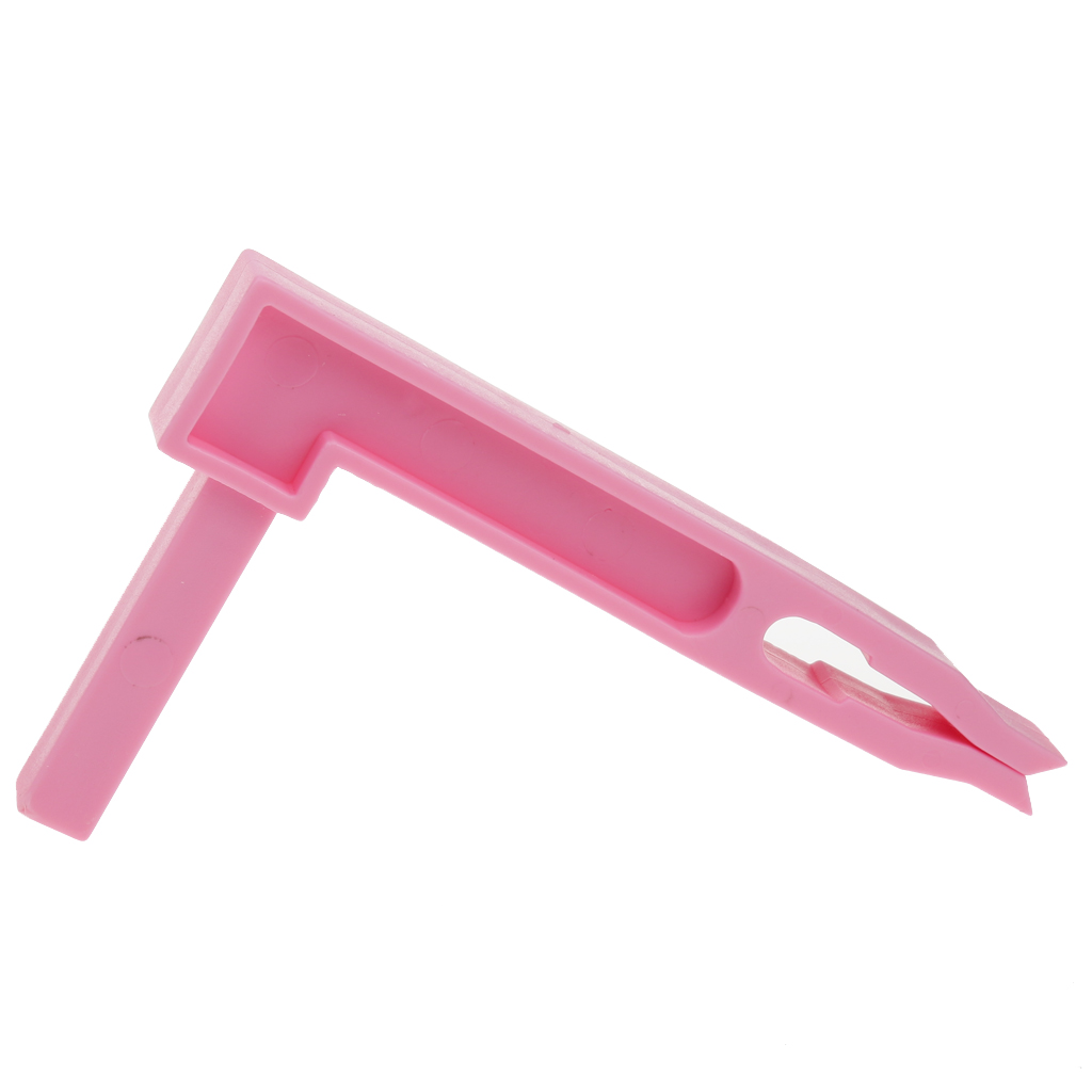 Golf 9 Iron Club Shafts Holder Stacker Rack Organizer Practice Tool - Pink