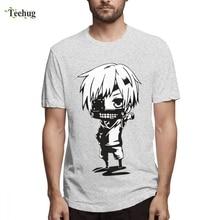 Hot Sale Tokyo Ghoul Kaneki Ken Anteiku Tee Shirt Men Novelty Summer For Man Quality Cotton Short Sleeve