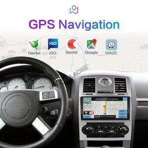 Image 3 - 2 딘 자동차 라디오 2Din 안드로이드 Autoradio 멀티미디어 플레이어 자동 오디오 크라이슬러 아스펜 300C 2004 2005 2006 2007 2008 GPS 와이파이 4G