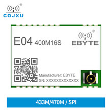 E04-400M16S stm S2-LP 413-479mhz 16dbm 1000m faixa de baixa potência consumo 433mhz ism banda spi rf módulo