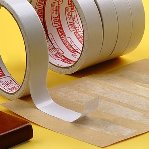 Image 5 - 8M White Super Strong Double Sided Adhesive Tape Paper Strong Ultra thin High adhesive Cotton Double sided diy handmade office