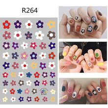 CHIVENIDO Lovely Nail Sticker Strawberry Leaves Dog Decals Water Transfer Designs for Halloween Art
