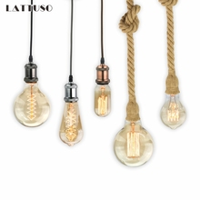 Retro Lamp E27 220V Vintage Edison Bulb 40W Ampoule Light Incandescent Filament
