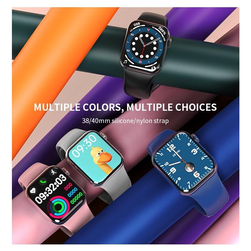 IWO HW12 HW16 Smart Watch 2020 44MM 40MM Women Men Smartwatch with Password Split Full Screen Bluetooth PK IWO 12 Pro FK88 6