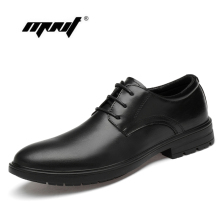 Genuine Leather Shoes Men Classic Lace Up Wedding Flats Handmade Office Dress Oxfords