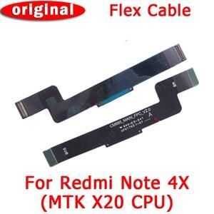 Оригинальная материнская плата PCB док-разъем запасные части гибкий кабель для Xiaomi redmi note 4x MTK версия