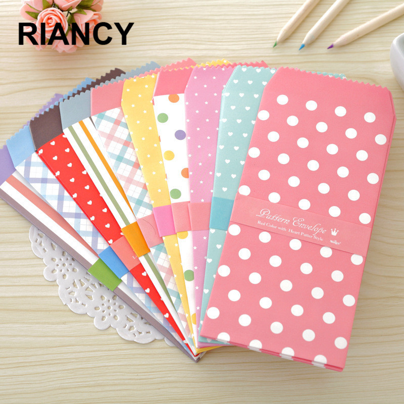 5 Pcs/lot Plastic/Chinese Red Envelope Wedding/for Money Mini Greeting Cards Padded/gift/cute Envelopes For Invitations 03209