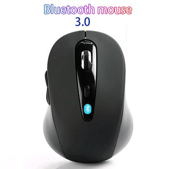 10M bezprzewodowa mysz Bluetooth 3 0 dla win7 win8 xp macbook iapd Android tablety komputer notbook akcesoria do laptopów 0-0-12 tanie i dobre opinie CSHZCE CN (pochodzenie) Bluetooth wireless NONE 1600 Opto-elektroniczny Baterii Prawo Black Red Gaming mouse Mouse wireless