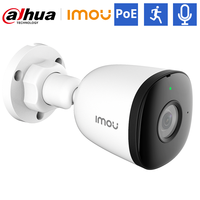 Imou Outdoor POE ip camera Video Surveillance Bullet camera IP67 Audio Recordering Human detection H.265 30M Night vision