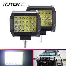 72 Вт Светодиодный светильник для работы бар автомобильный точечный