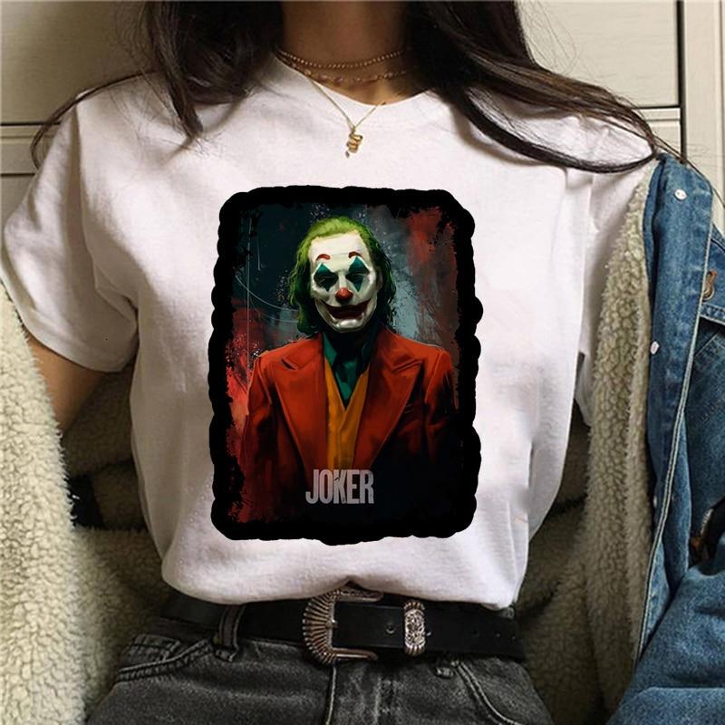 Joker  Joaquin Phoenix Funny T-shirt Men/women/kid Summer New White Casual Homme TShirt Unisex Streetwear T Shirt