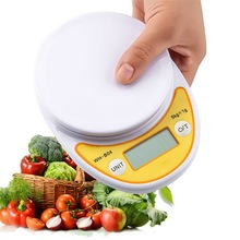 5kg/1g New LCD Digital Scale For Kitchen Food Precise Postal Portable Cooking Scale Baking Scale Balance Measuring Weight Libra 10000g x 1g digital mini food diet kitchen scale balance weight scale led electronic cooking scale measure tools