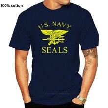 Us Navy Seals T-shirt-Retro Us Air Force Marines Fancy Dress Mens Gift Top 100% Katoen Brief Gedrukt T shirts