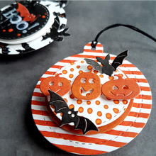 Pumpkin Metal Cutting Dies 3 With Smile Happy Halloween To You Die Cuts For DIY Card Making New 2019 Crafts Cards