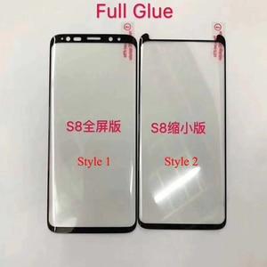 Image 1 - 10 chiếc Full Keo Bảo Vệ Màn Hình Trong cho Samsung S8 Plus 3D Cong Full Keo Dán Kính Cường Lực cho S9 Plus note 8 9 10 S10