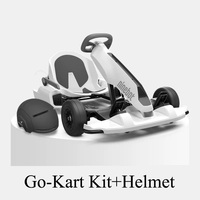 Go Kart Kit Karting Conversion Toy Balance Car Kids Children's Ride on Dual purpose Balance Car with Helmet