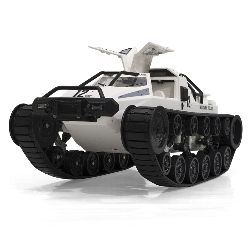 SG 1203 1/12 2.4G Drift RC Tank Car High Speed Full Proportional Control Vehicle Models Outdoor Toys Black White