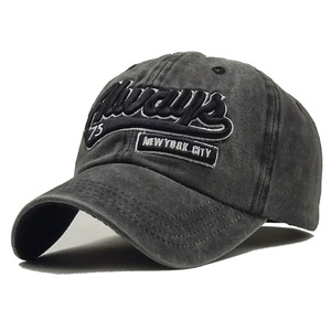 Image 2 - New Washed Cotton Baseball Cap with Whale pattern Peaked Embroidered letter Dad Hat for Men Women Casquette gorra hombre bone