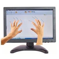 Pantalla táctil capacitiva de 10 1 pulgadas 1280*800 con carcasa de plástico  monitor táctil de 10 puntos con interfaz AV/BNC/VGA/HDMI/USB
